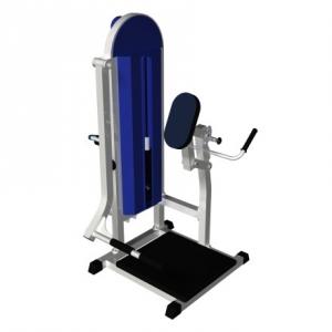 Тренажёр для ягодичных мышц в наклоне MB 3.07 N серый MB Barbell