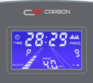 Голубой многофункциональный LCD дисплей с диагональю 4.9 дюйма (12.5 см.)