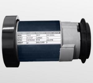 Надежный двигатель американской компании Leeson мощностью 1.75 л.с.