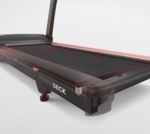 Амортизация Ultimate Deck™ System включает супер прочную раму, увеличенную деку и 8 профессиональных амортизационных подушек для сверхдолгого срока сл