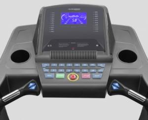Тренировочный компьютер представлен голубым LCD-дисплеем высокой контрастности диагональю 18 см