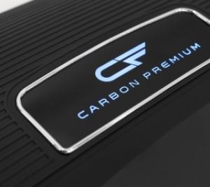 Одна из премиальных компонент - светящийся логотип CARBON PREMIUM