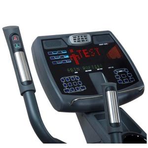 Управление и датчики пульса на рукоятках эллиптического тренажера