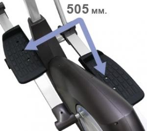 Длина шага 505 мм.