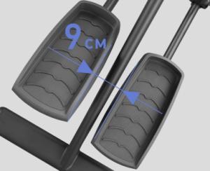 Расстояние между педалями