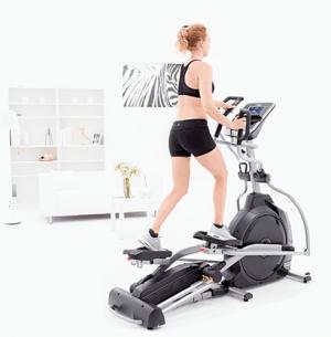 Эллиптический тренажер XE395 (2017) Spirit Fitness
