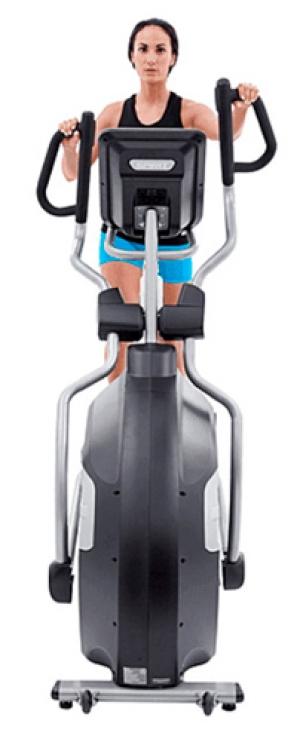 Эллиптический тренажер XE895 (2017) Spirit Fitness вид спереди