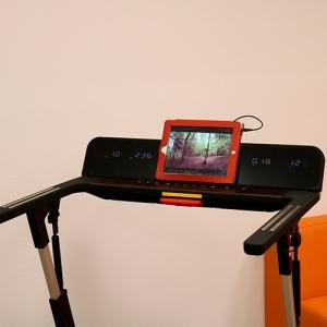 Просмотр видео с планшета закрепленном на  DFC ELEGANT
