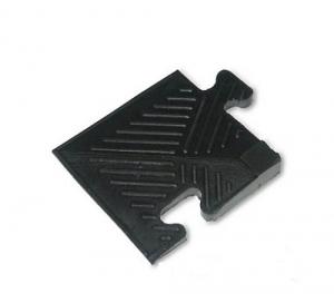 Уголок резиновый для бордюра, 20мм MB-MatB-Cor20 черный MB Barbell