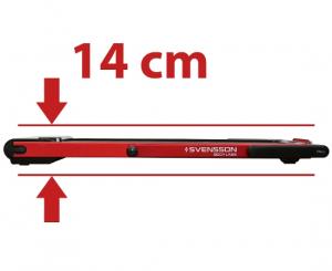 В сложенном виде толщина тренажера составляет всего 14 см