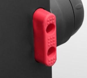 Резиновая основа защищает напольную поверхность от царапин