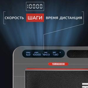 Информативный LED-дисплей для контроля скорости, расстояния, числа шагов и времени
