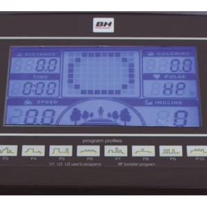 Буквенно-цифровой LCD-дисплей с голубой подсветкой