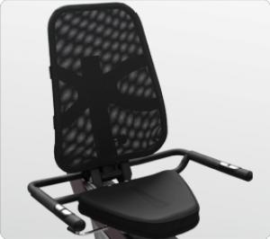Эргономичное дышащее сеточное сидение с поддержкой спины