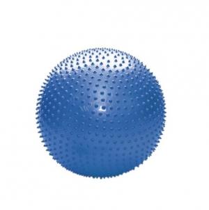 Гимнастический мяч массажный 55см 97404FL синий
