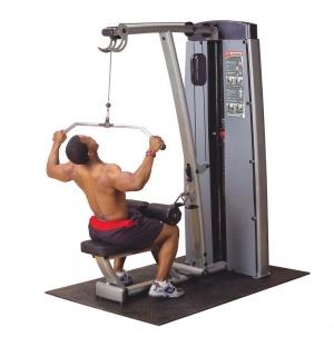 Двухпозиционный тренажер для  мышц спины DLATsf Body-Solid