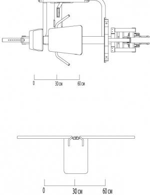 Жим ногами SLP500G Body-Solid