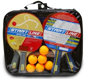 Набор 4 Ракетки Level 200, 6 Мячей Club Select 61-453 Start Line
