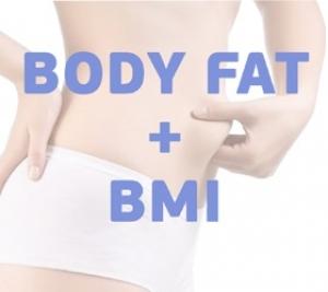 Body Fat/BMI (жироанализатор/определитель индекса массы тела)