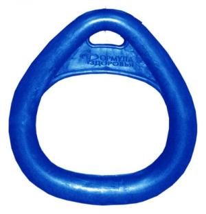 Кольцо гимнастическое треугольное Синее Формула Здоровья