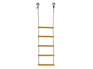 Лестница веревочная 5 перекладин ЛВ5-2В желтая Формула Здоровья
