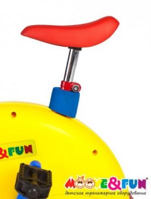 Велотренажер с компьютером для детей SH-02C Moove&Fun