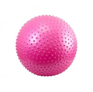 Гимнастический мяч массажный 55см ВВ-003BL-22 розовый GymBall