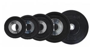 Диск бампированный d=50 мм, 1кг, черный FM\BM-1KG Foreman