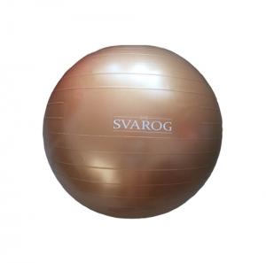 Гимнастический мяч 55см SVFP-455 золото Svarog
