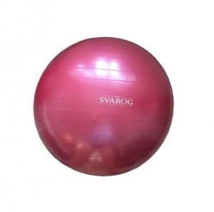 Гимнастический мяч 75см SVFP-475 розовый перламут Svarog