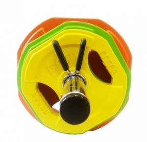 Диск для штанги бодипамп 1,25 кг SVYP-1,25 (603) желтый Svarog