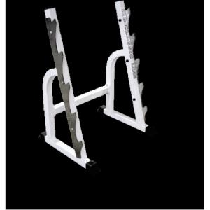 Стойка для хранения грифов (на 5 позиций) MB 1.02 белый MB Barbell