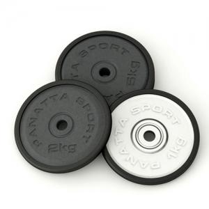 Диск d=50 мм, 2 кг, черный 1DG2 Panatta