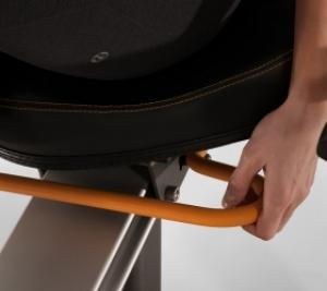 Автомобильная регулировка сиденья одной рукой позволит быстро занять и установить лучшее положение для продолжительной тренировки
