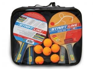 4 Ракетки Level 200, 6 Мячей Club Select 61-453-1 Start Line
