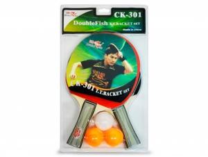 Набор 2 Ракетки, 3 мяча CK-301 Start Line
