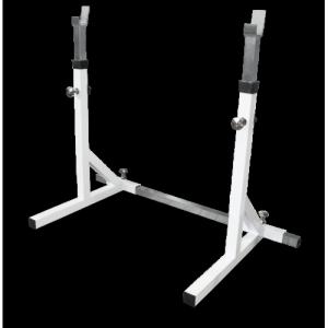Стойка с двумя позициями для штанг MB 2.19 серый MB Barbell