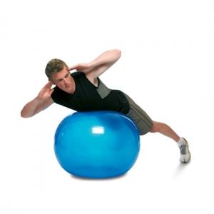 Гимнастический мяч 65см My Ball бирюзовый TOGU