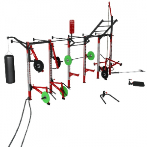 Рама кроссфит пристенная Wall mounted 1DFC004 Panatta