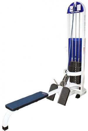 Горизонтальная тяга (грузоблок) MB 3.08 серый MB Barbell