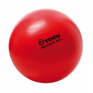 Гимнастический мяч 65см ABS Powerball красный TOGU