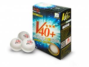 Мячи 40+ Three star Volant (ITTF) 3 звезды (6шт мячей в упаковке) A110F Start Line