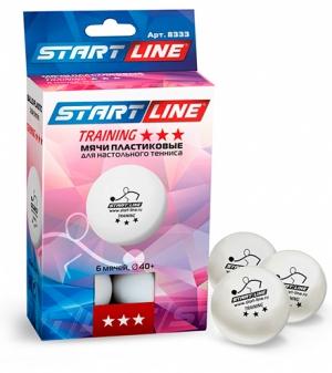 Мячи Start line Training 3 звезды (6шт мячей в упаковке) 8333 Start Line