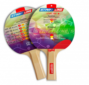 Ракетка теннисная прямая Level 100 12203 Start Line