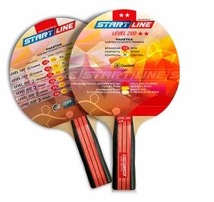 Ракетка теннисная прямая Level 200 12306 Start Line