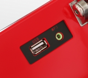 USB/AUX вход для вывода аудио файлов на динамики 3 Ватта