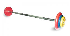 Штанга неразборная, цветная ф25мм, 50 кг MB-BarMW-C50 MB Barbell