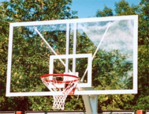 Щит баскетбольный игровой 1800х1050мм оргстекло 10мм 004689 Sport