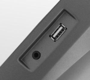 Разъемы AUX IN и USB
