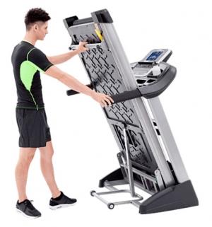 Беговая дорожка XT485 (2017) Spirit Fitness в сложенном состоянии